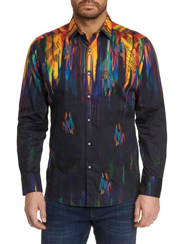 Robert Graham - Jack Dripper Embroidered Sport Shirt