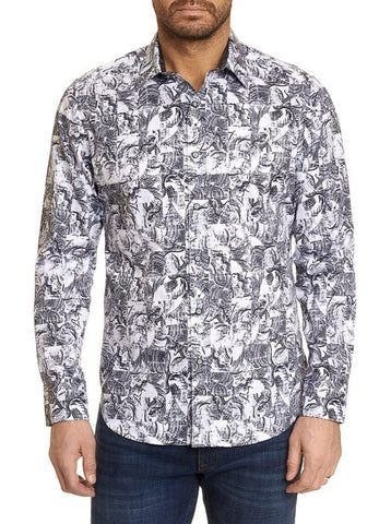 Robert Graham - Pushing Paint Sport Shirt
