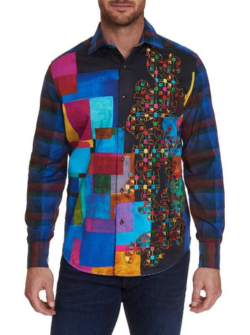 Robert Graham - LIMITED EDITION THE GEOMETRIC SPORT SHIRT