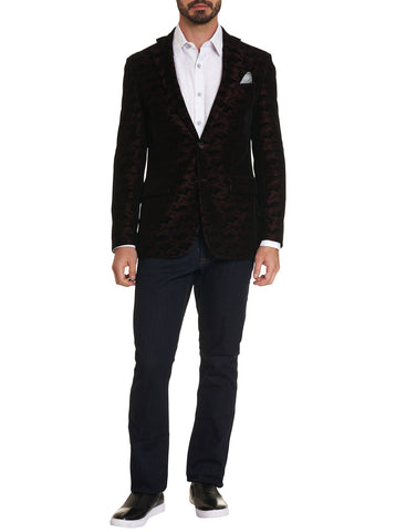 Robert Graham - Hoyle Sport Coat in Merlot