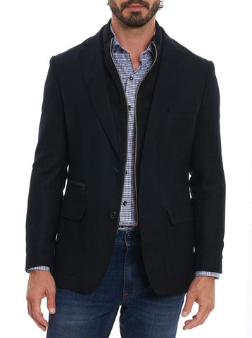 Robert Graham - Downhill XIV Sport Coat, Black