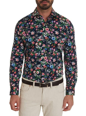 Robert Graham - Harmon Long Sleeve Dress Shirt