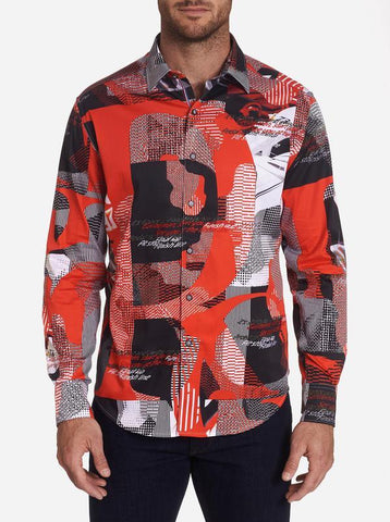Robert Graham - Start Your Engine Long Sleeve Shirt