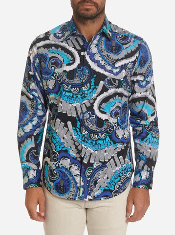 Robert Graham - Power Train Long Sleeve Shirt
