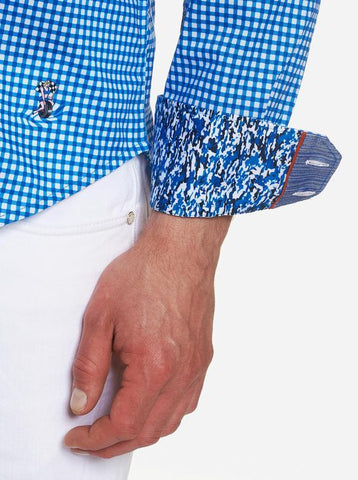 Robert Graham - Pit Stop Long Sleeve Shirt