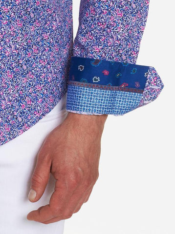 Robert Graham - Precision Long Sleeve Shirt