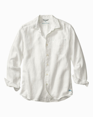 Tommy Bahama, Sea Glass Breezer Linen Long Sleeve Shirt