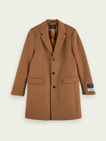 Scotch & Soda - Classic wool-blend overcoat
