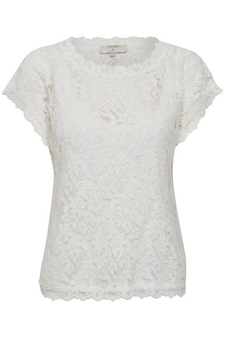 CREAM - Vivi Lace Blouse