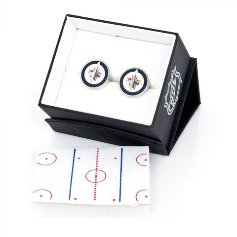 Cufflinks Inc - Winnipeg Jets Cufflinks