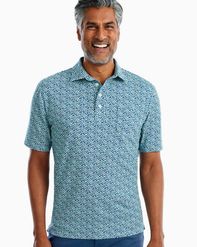 Johnnie-O, The Original 4-Button Polo - Cannon Print