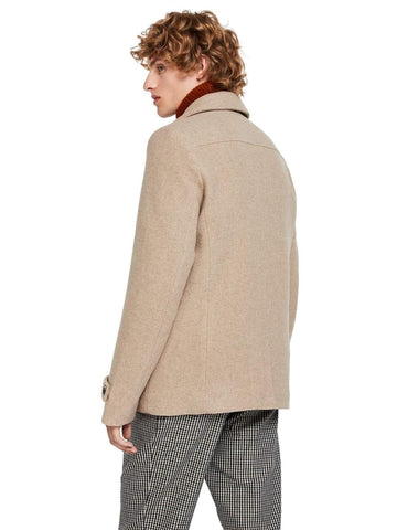 Scotch & Soda - Classic Pea Coat in Camel