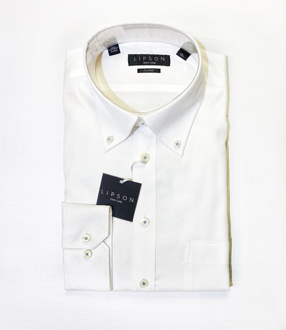 Lipson Classic Contemporary Fit White Shirt