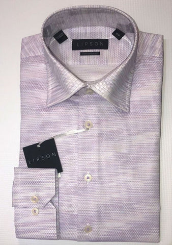 Lipson Mauve Contemporary Fit Dress Shirt