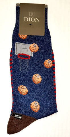 DION - Basketball Cotton-Blend Socks
