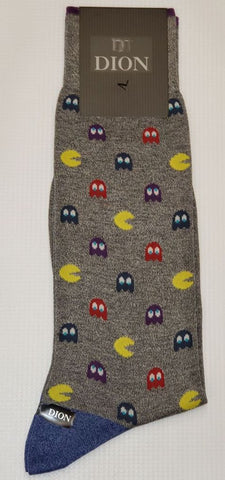 DION - Pac Man Cotton-Blend Socks