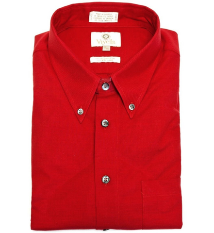 Viyella - Red Button-Down Shirt