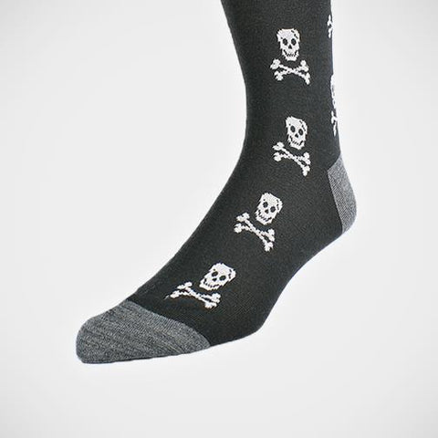 DION - Skull Cotton-Blend Socks