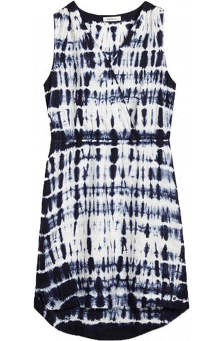 Sandwich Tie Dye Linen Dress