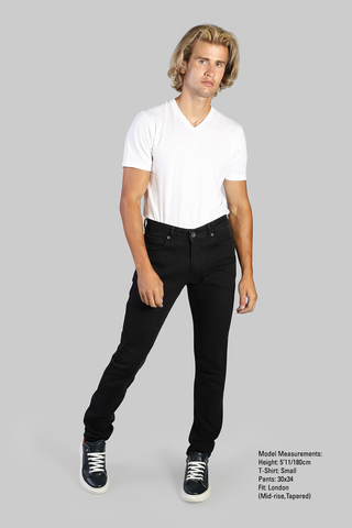 Sloane Stretch Jeans - Black - 7 Downie St.®