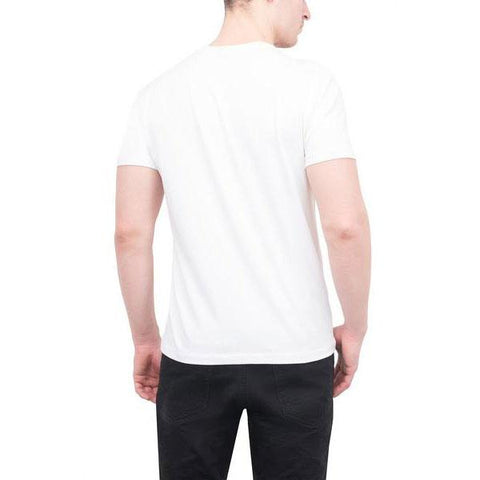 Patrick Assaraf, V-Neck Cotton T-Shirt, Short Sleeve