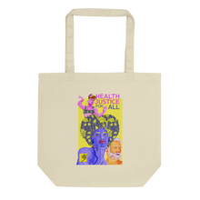 Load image into Gallery viewer, World AIDS Day 2020, Health Justice for All Eco Tote Bag