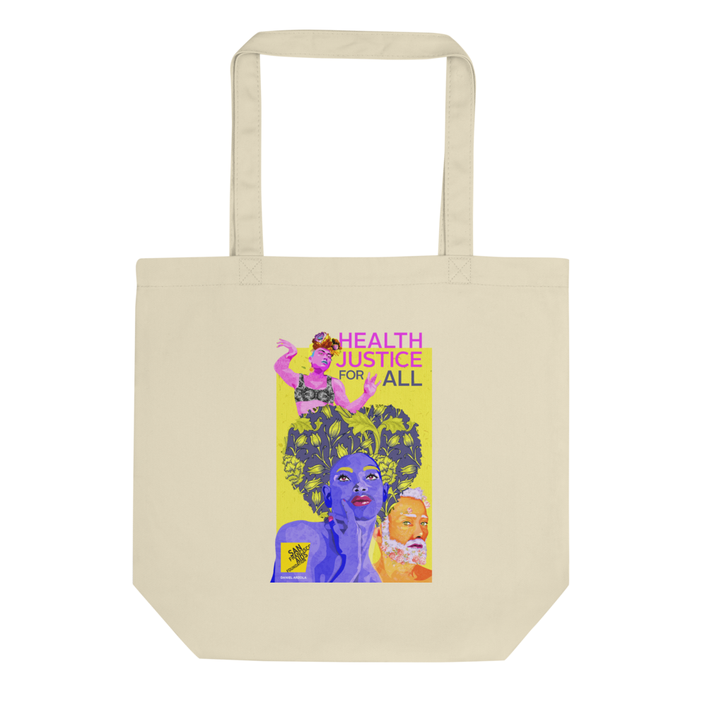 World AIDS Day 2020, Health Justice for All Eco Tote Bag