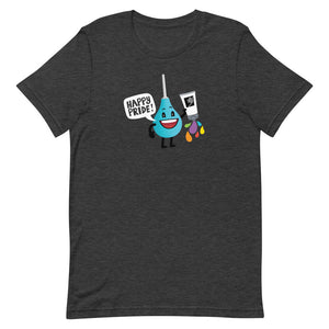 Pride 2020 Unisex T-Shirt featuring Douchie: Rainbow Lube