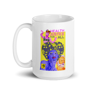 World AIDS Day, Health Justice for All Mug
