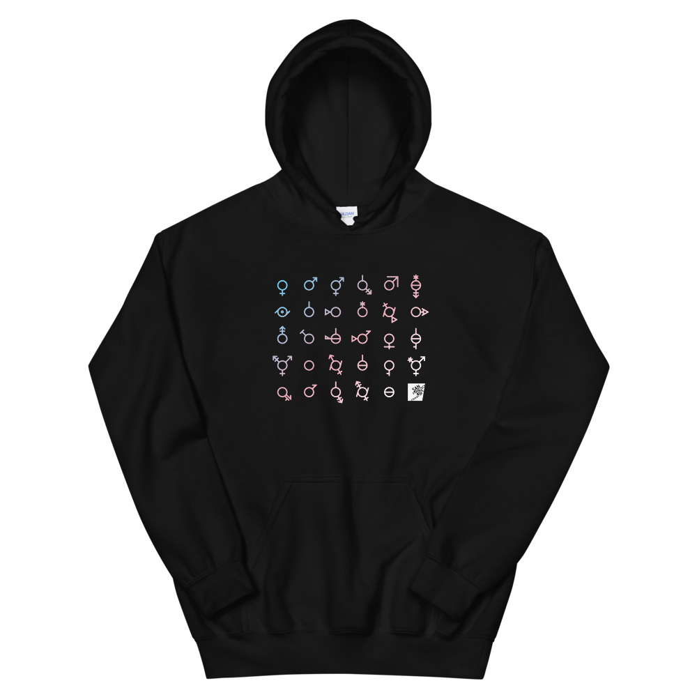 Trans Day of Visibility Gender Neutral Hoodie