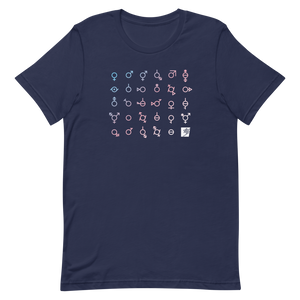 Trans Day of Visibility Short-Sleeve Gender Neutral T-Shirt