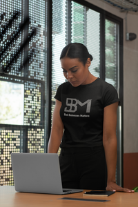 Black Businesses Matter Rhinstone T-Shirt - Mel Mart by BBM