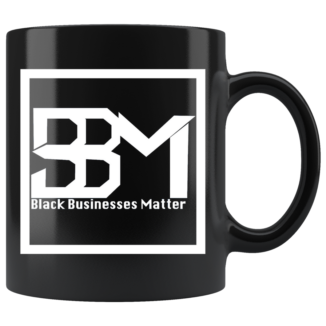 Black Executive Mug - Mel Mart by BBM
