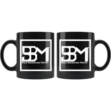 Load image into Gallery viewer, Black Executive Mug - Mel Mart by BBM
