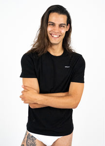 Black Organic T-Shirt Men