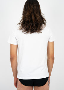 White Organic T-Shirt Men