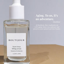 Load image into Gallery viewer, Boutijour Snow Lotus Lifting Serum