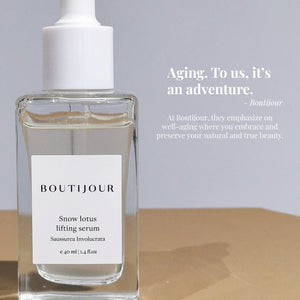Boutijour Snow Lotus Lifting Serum