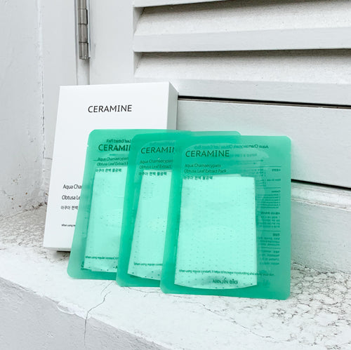 Ceramine Aqua Mask - 1 Pack (10 Sheets)
