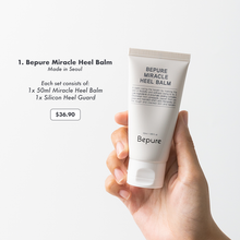 Load image into Gallery viewer, Bepure Miracle Heel Balm (1 Set)