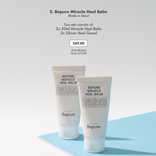 Load image into Gallery viewer, Bepure Miracle Heel Balm (2 Sets)
