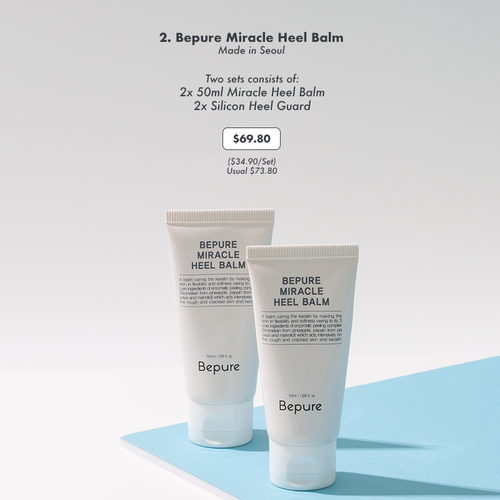 Bepure Miracle Heel Balm (2 Sets)
