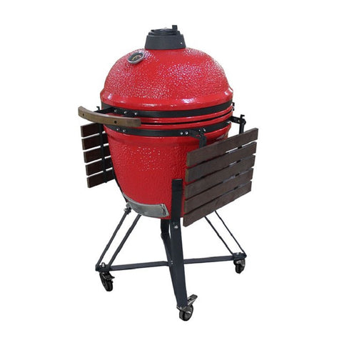 Image of Auplex Large Garden Ceramic Kamado 21 Inch Grill