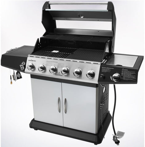 Sea high quality outdoor gas bbq grill six burners