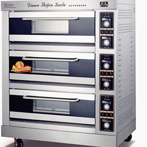 Commercial Electric oven 1200w baking oven 3 layers