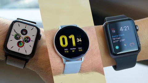 Smart Watches Apple and Samsung