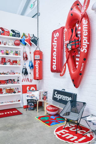 supreme raft, supreme streetwear accessories, the official dealers blog
