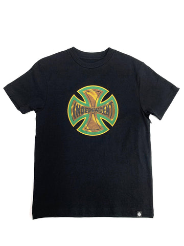 Independent Youth Coil Tee Black