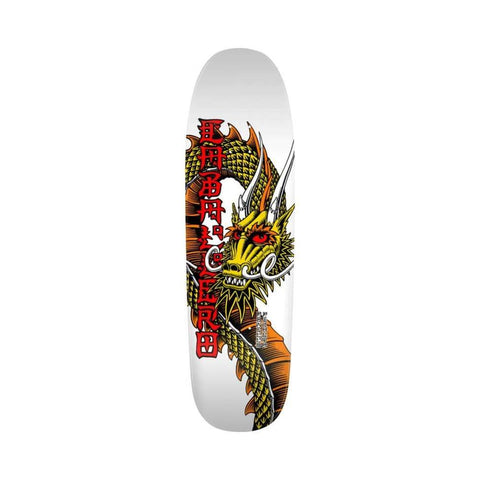 "Powell Peralta Reissue Deck Cab Ban This 9.265"" x 32"" White"