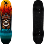 Powell Peralta Pro Andy Anderson Heron Flight Deck 8.45 x 31.8